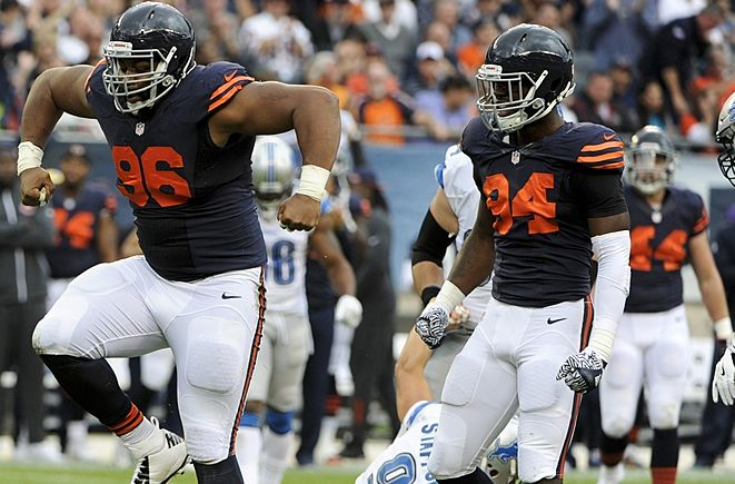 Floyd and Hicks held the D-Line together last year.   Credit: Matt Marton-USA TODAY Sports