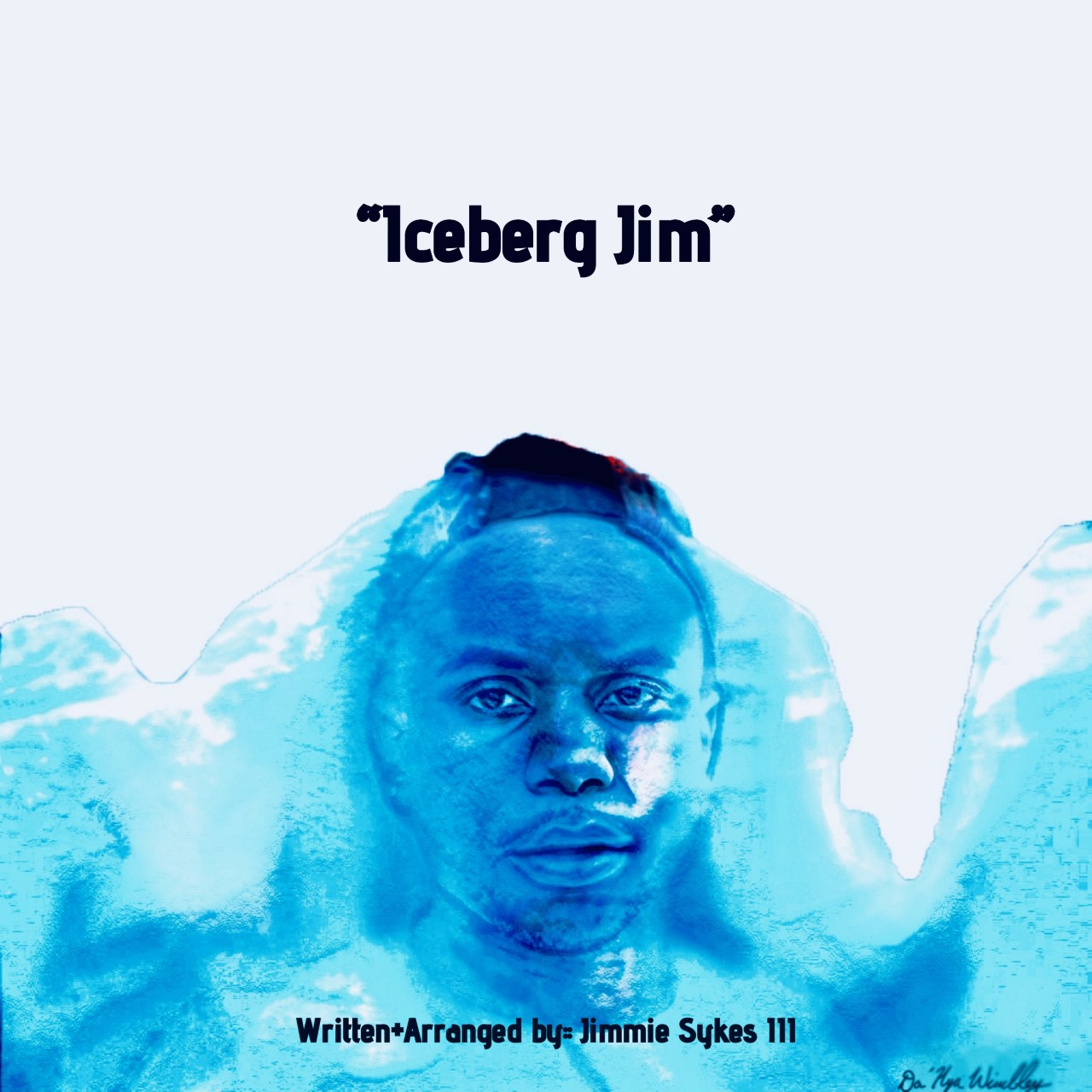 """My first self-published writing piece """"Iceberg Jim"""" is on the way. This is a mere reflection of everyday life for me at some point. """"Iceberg Jim"""" will have eight different chapters of writing, hitting from eight different perspectives of life. This writing piece should be relatable for anyone who ever felt they've lost their place, lost someone special to them, or for those who can't seem to get over some obstacles life throws our way. Artwork done by Da'Nya Wimbley"""