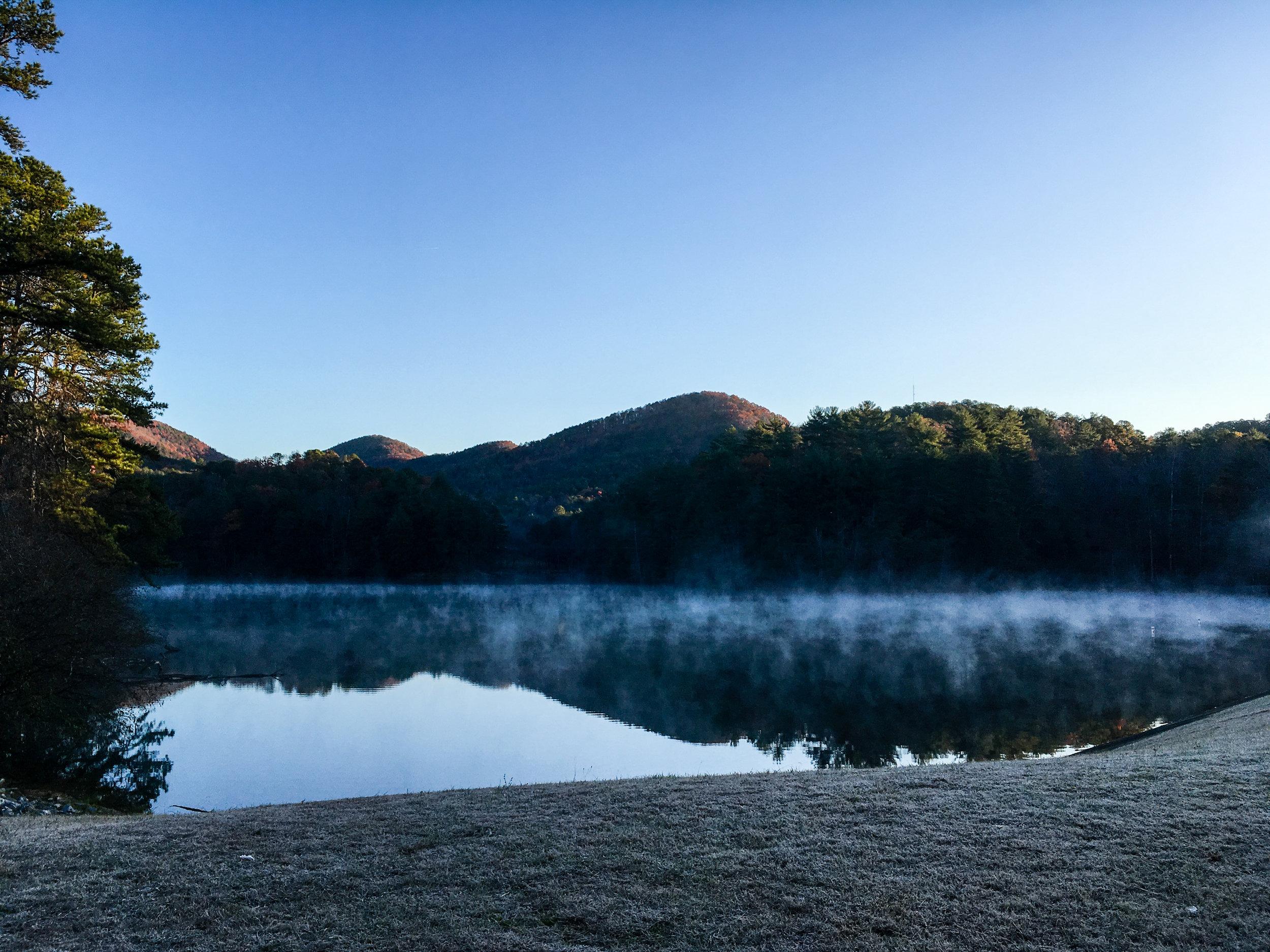 Unicoi Lake, November 23, 2017
