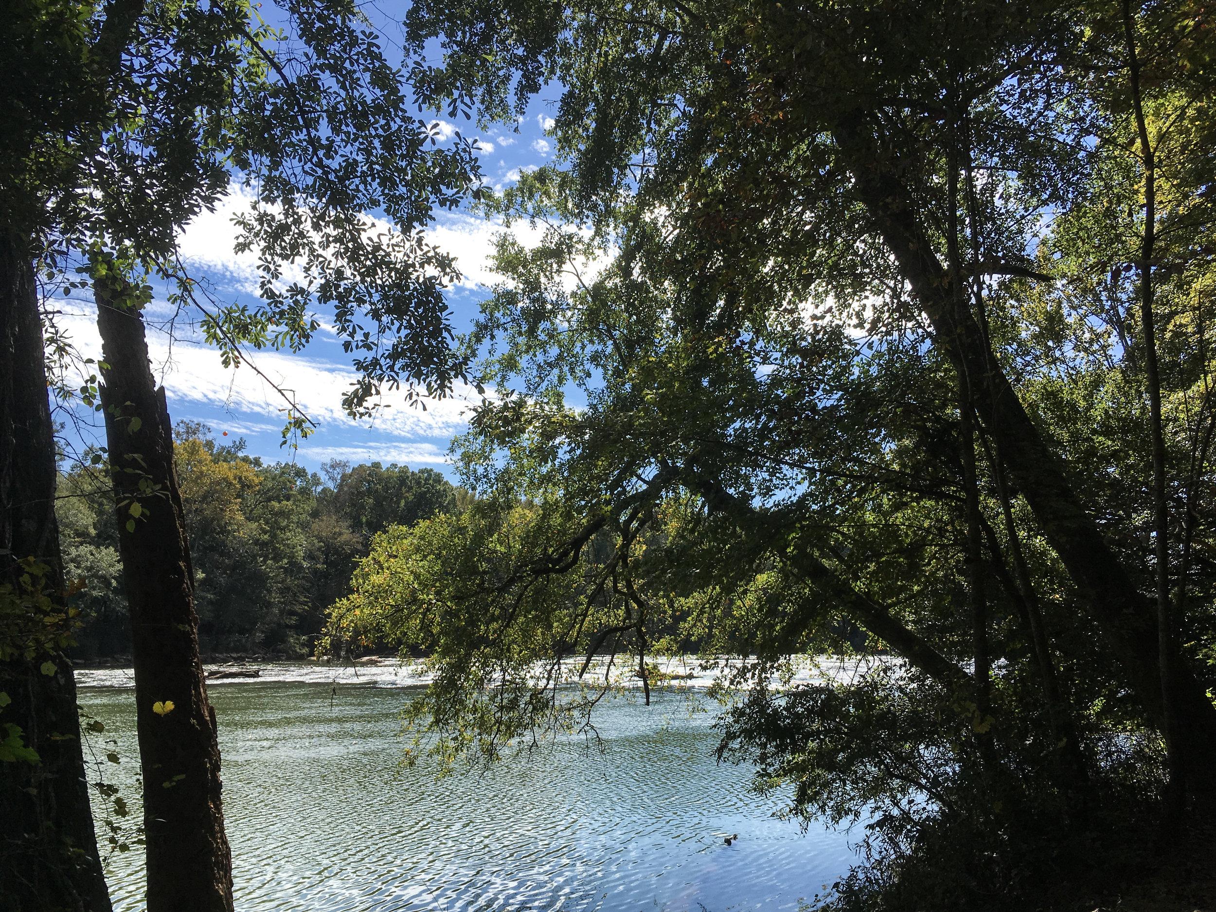 Chattahoochee River, October 18, 2018
