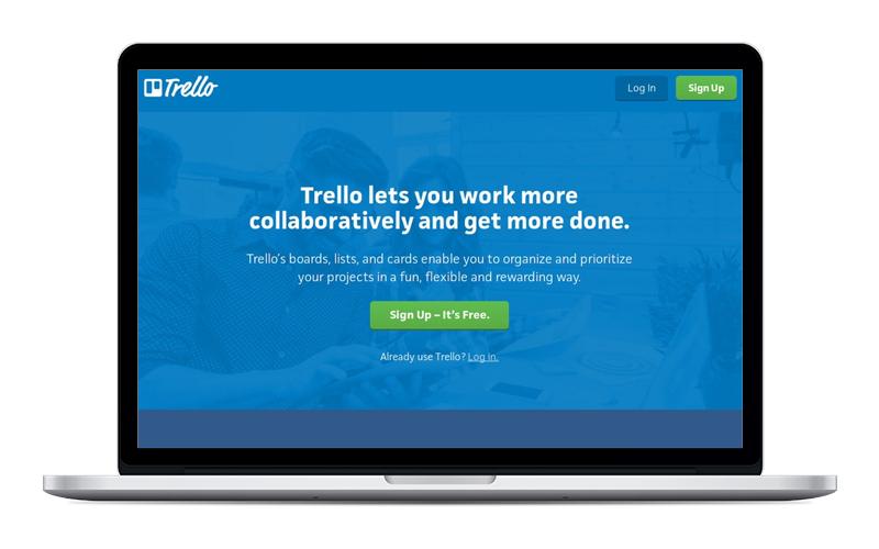 trello - Organización de tareas y proyectos.Su versión gratuita es súper completa.