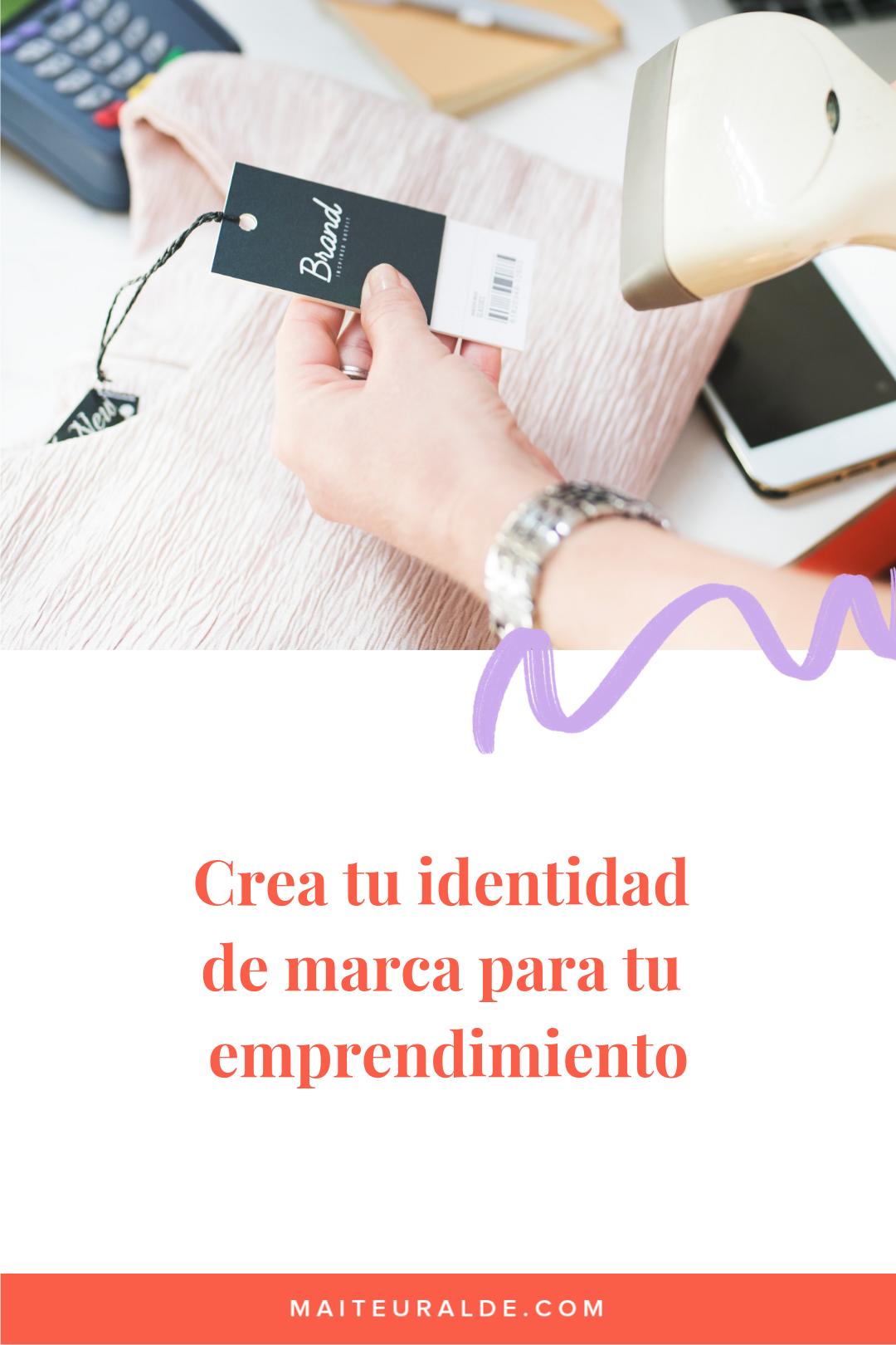 Instagram Live sobre cómo generar identidad de marca en nuestros emprendimientos
