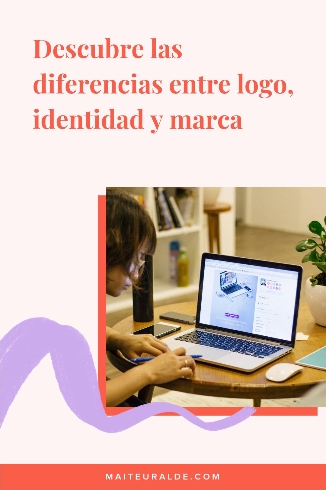 Conoce las diferencias entre logo, identidad y marca.