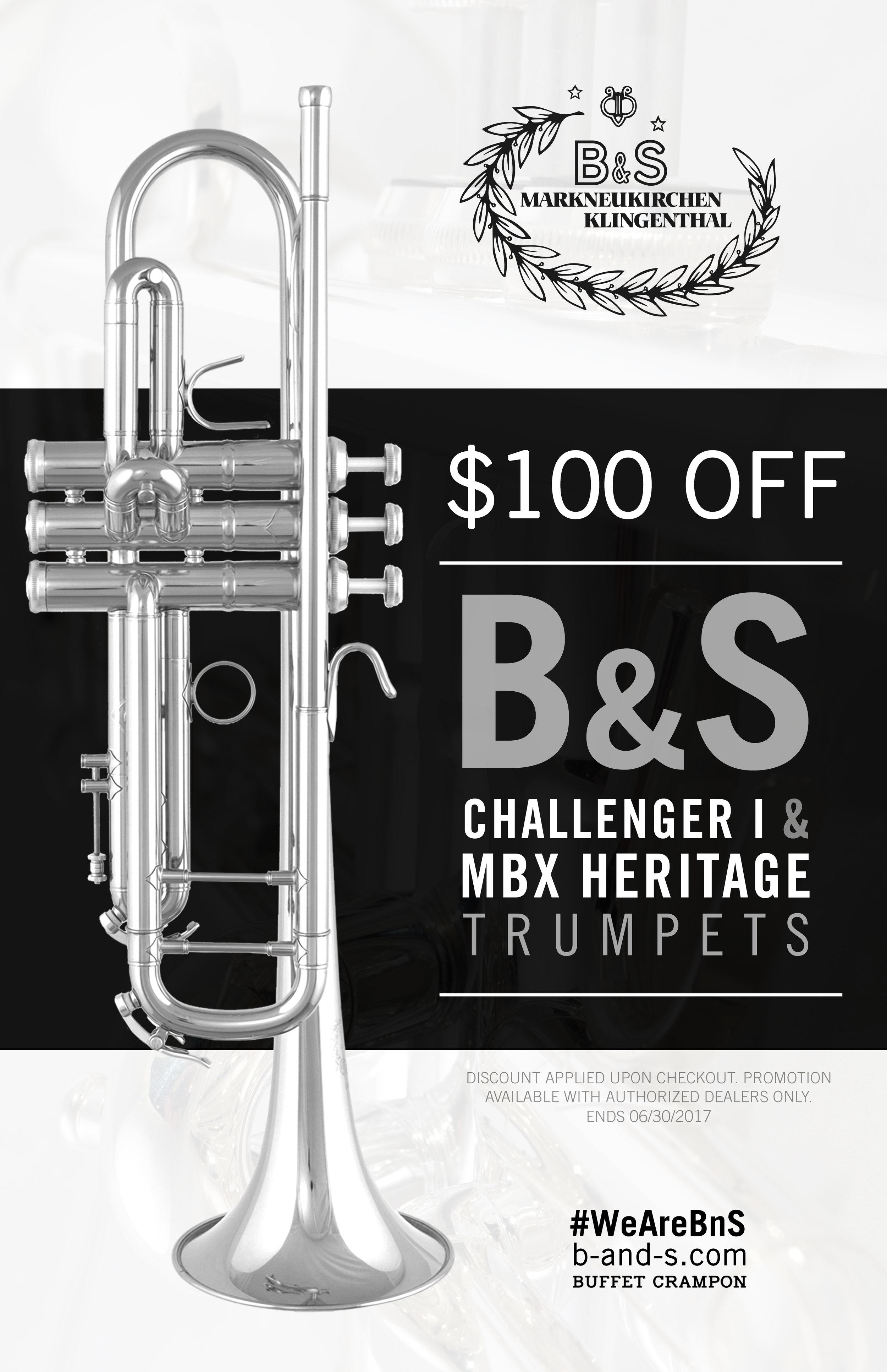 challenger-trumpet-sale