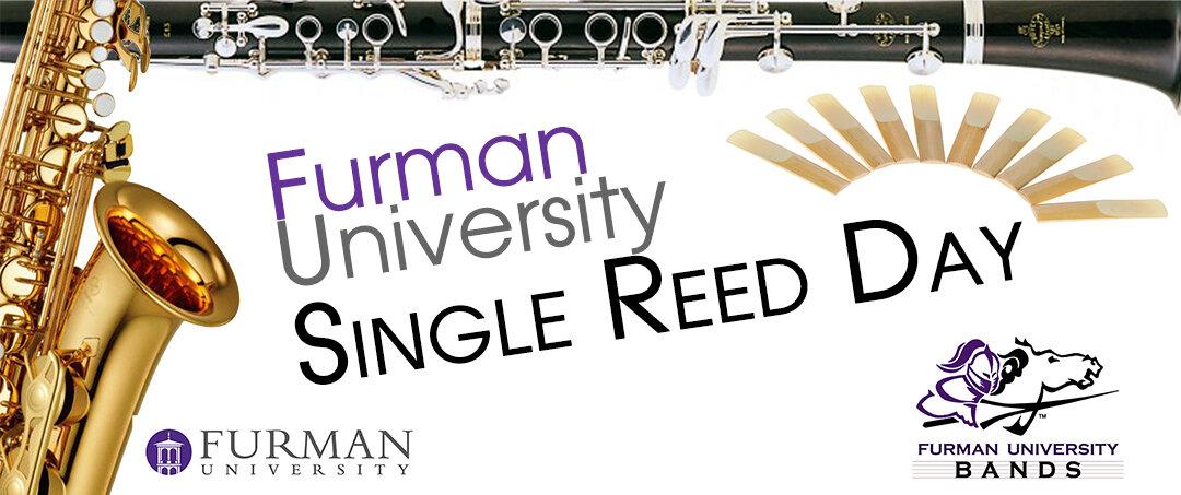 Furman University Single Reed Day 2018