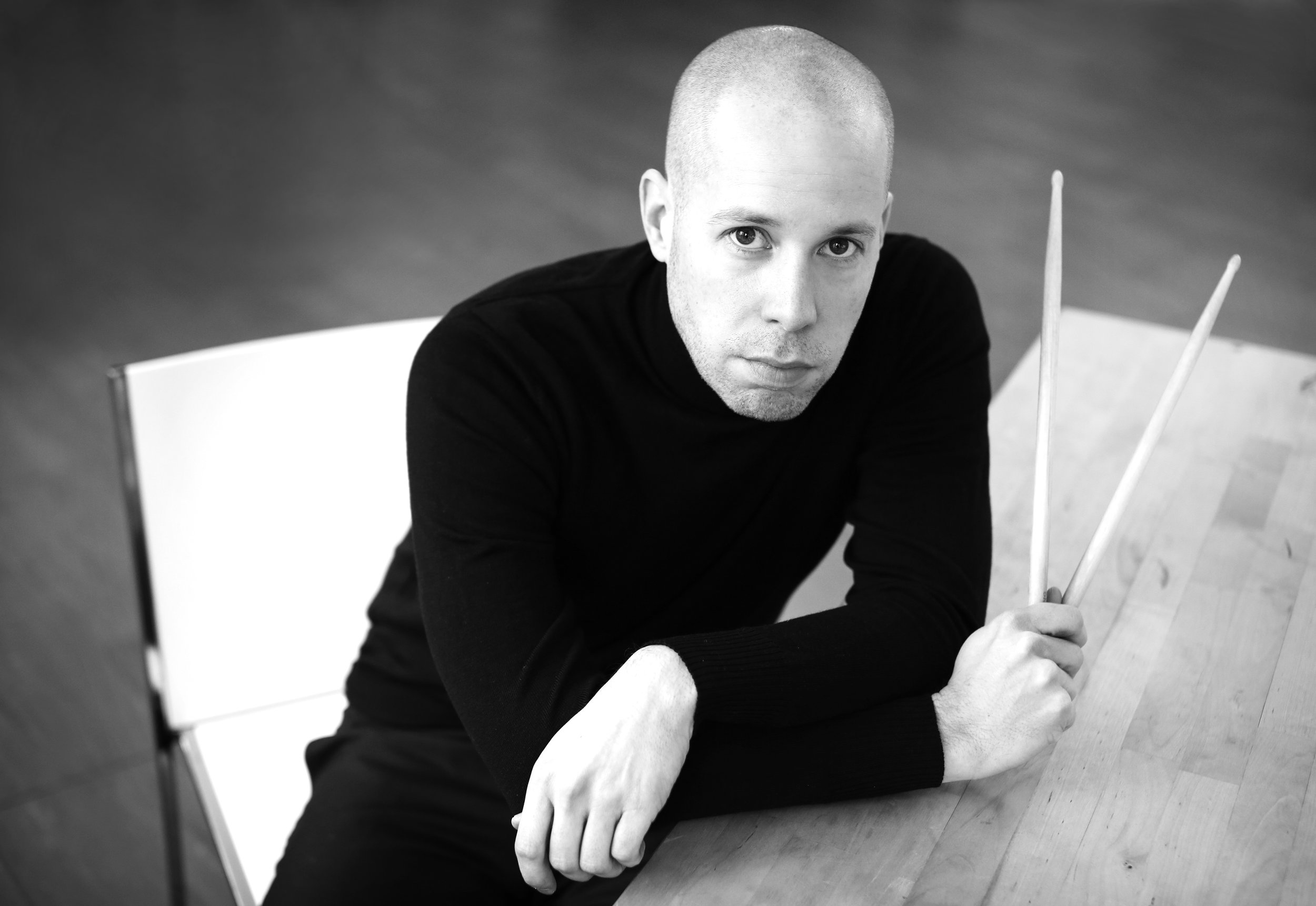 Jussi Lehtonen, drums and percussions