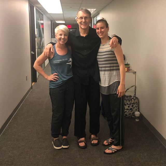 Ran into these two incredible, kind, and generous artists today!! Bill Evans was my teacher and mentor at Brockport College, whose influence serves as the foundation of my work & teaching 🙏🏼 And Kathy Diehl was my peer, ballet teacher (yea I took ballet), and collaborator at Brockport. She is now the director of dance @isudance ! We had the pleasure of performing together in Bill's work numerous times!!