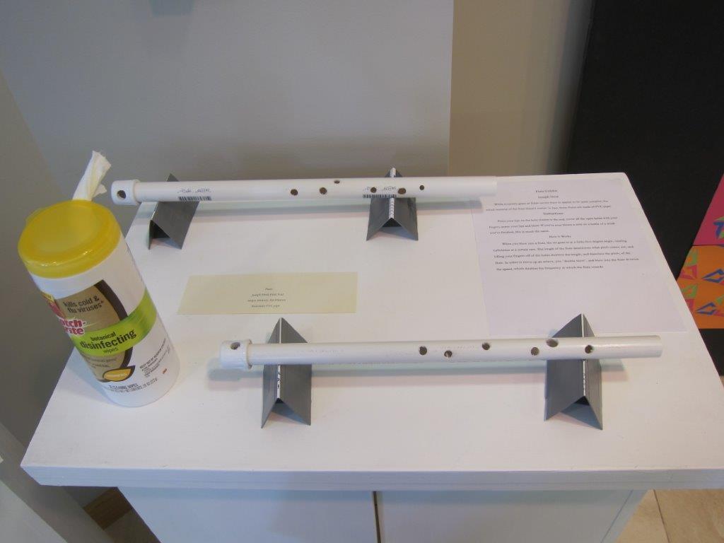 making a PVC flute using math