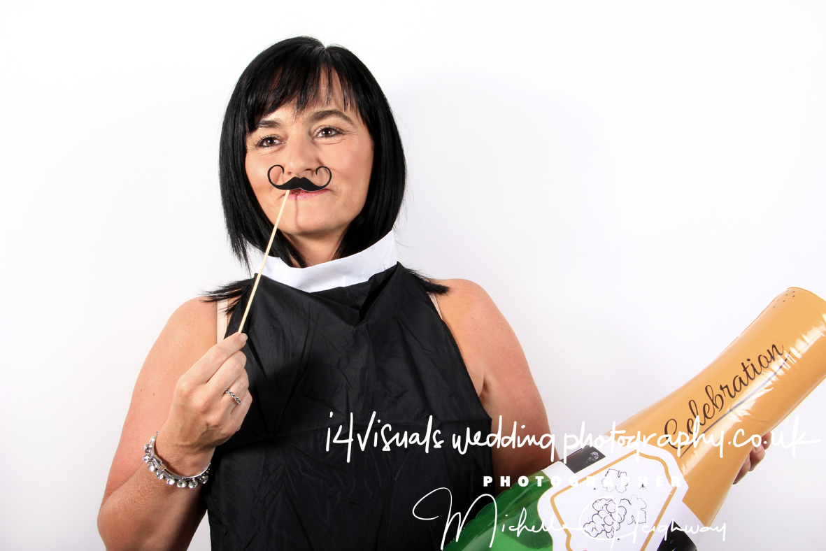 Wedding Photo Booth Style Photography
