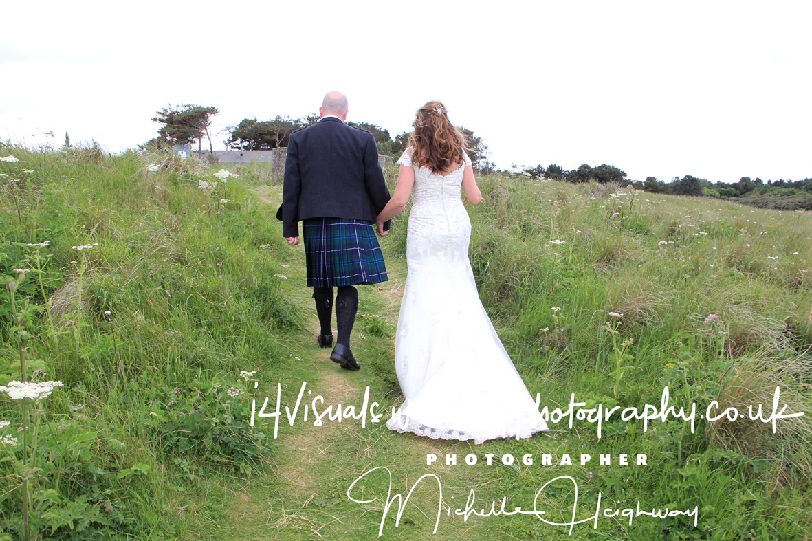 "Wedding Photographer - edinburgh  - Wedding ""Glamping it"" at Harvest Moon Holidays, Lochhouses, Scotland"