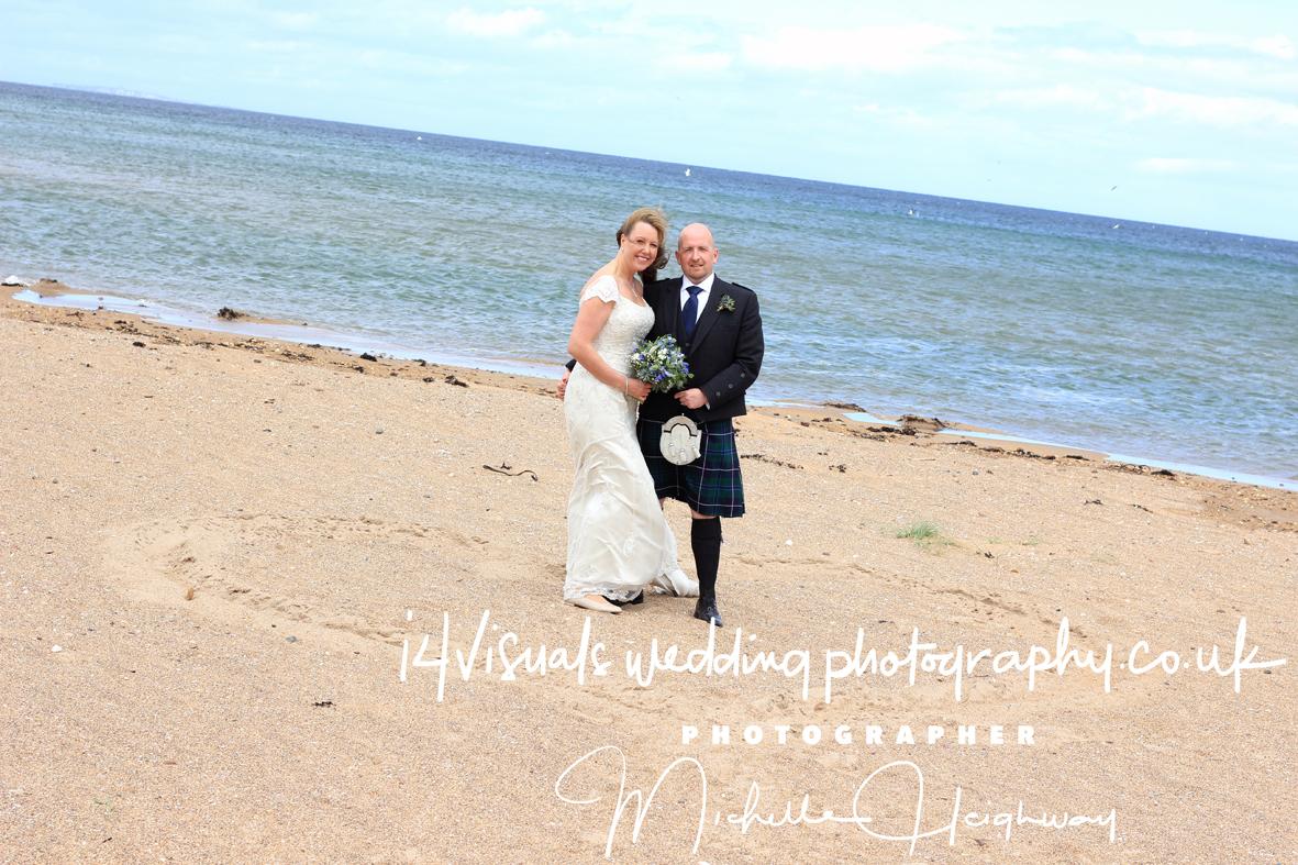 HEART ON BEACH -WEDDING