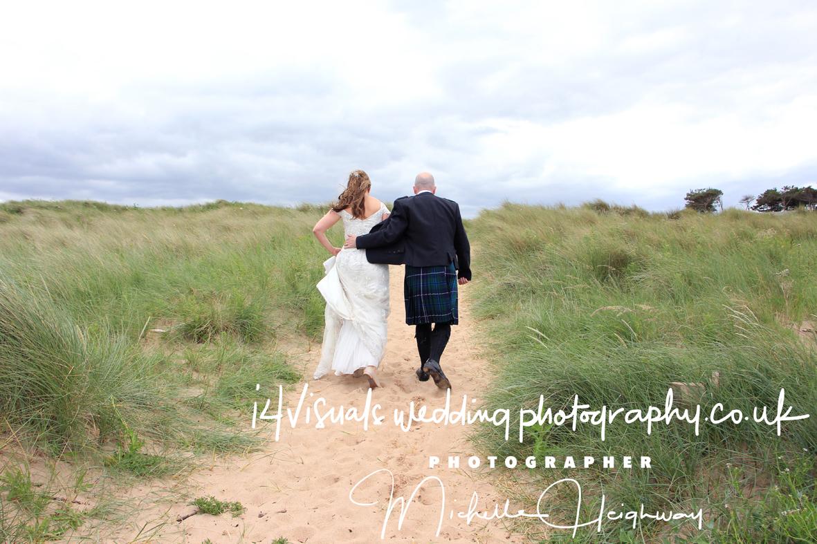 beach wedding edinburgh