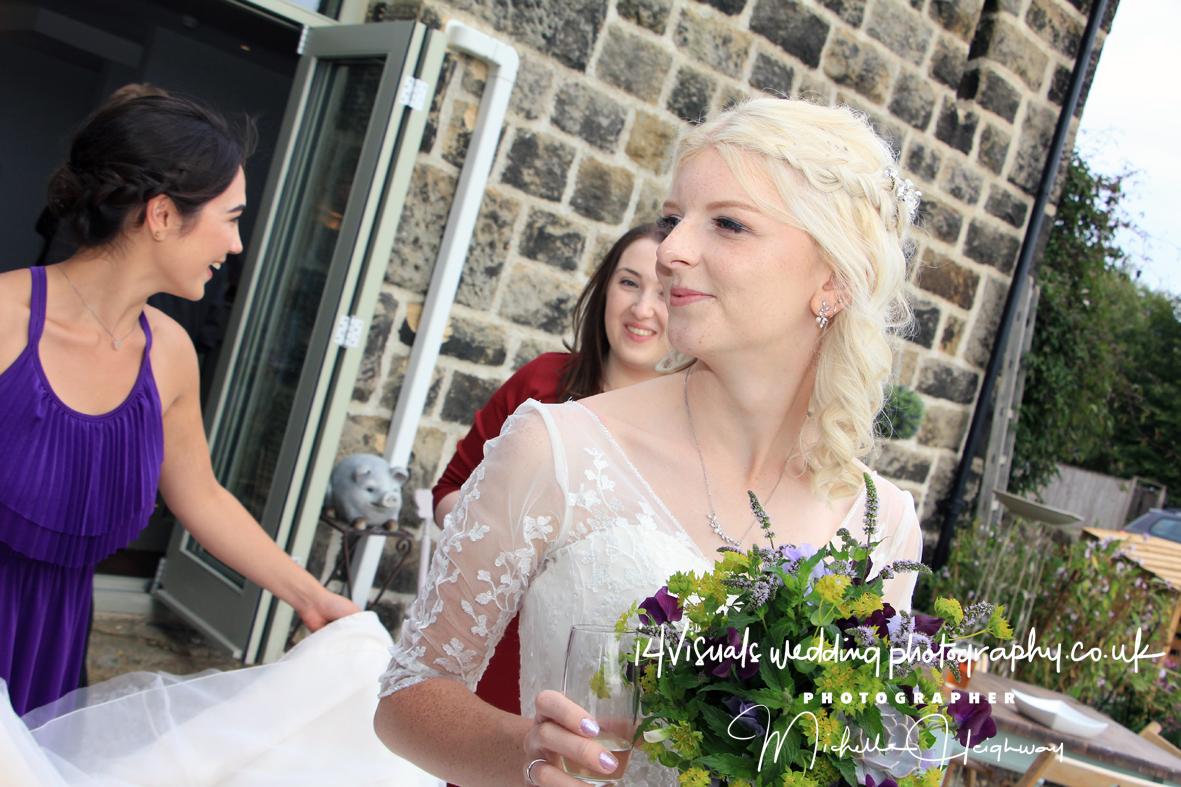 Wedding at THE CHILLI BARN - OTLEY CHEVIN ,OTLEY