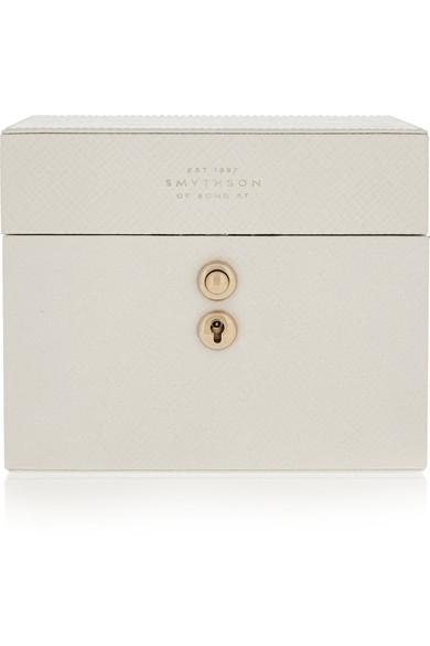 Smythson leather jewelry box