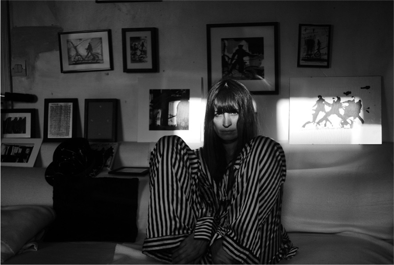 Image from Rika magazine (Caroline de Maigret photographed by Annemarieke van Drimmelen)