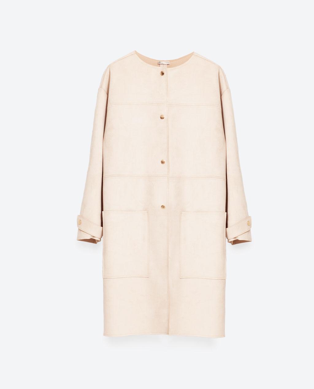 faux suede jacket $70