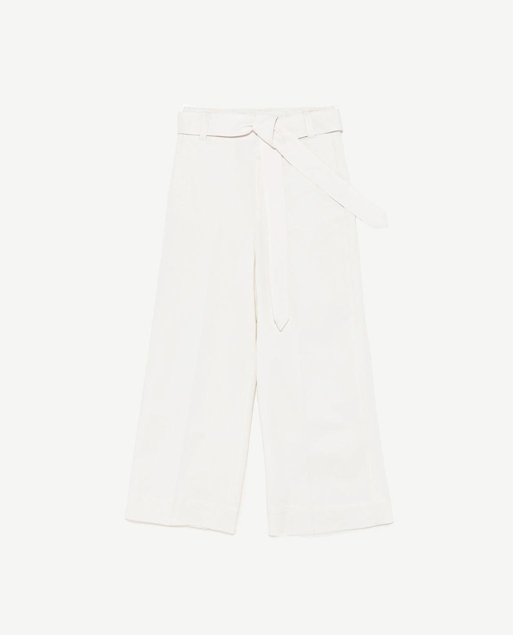 wide leg trousers $50