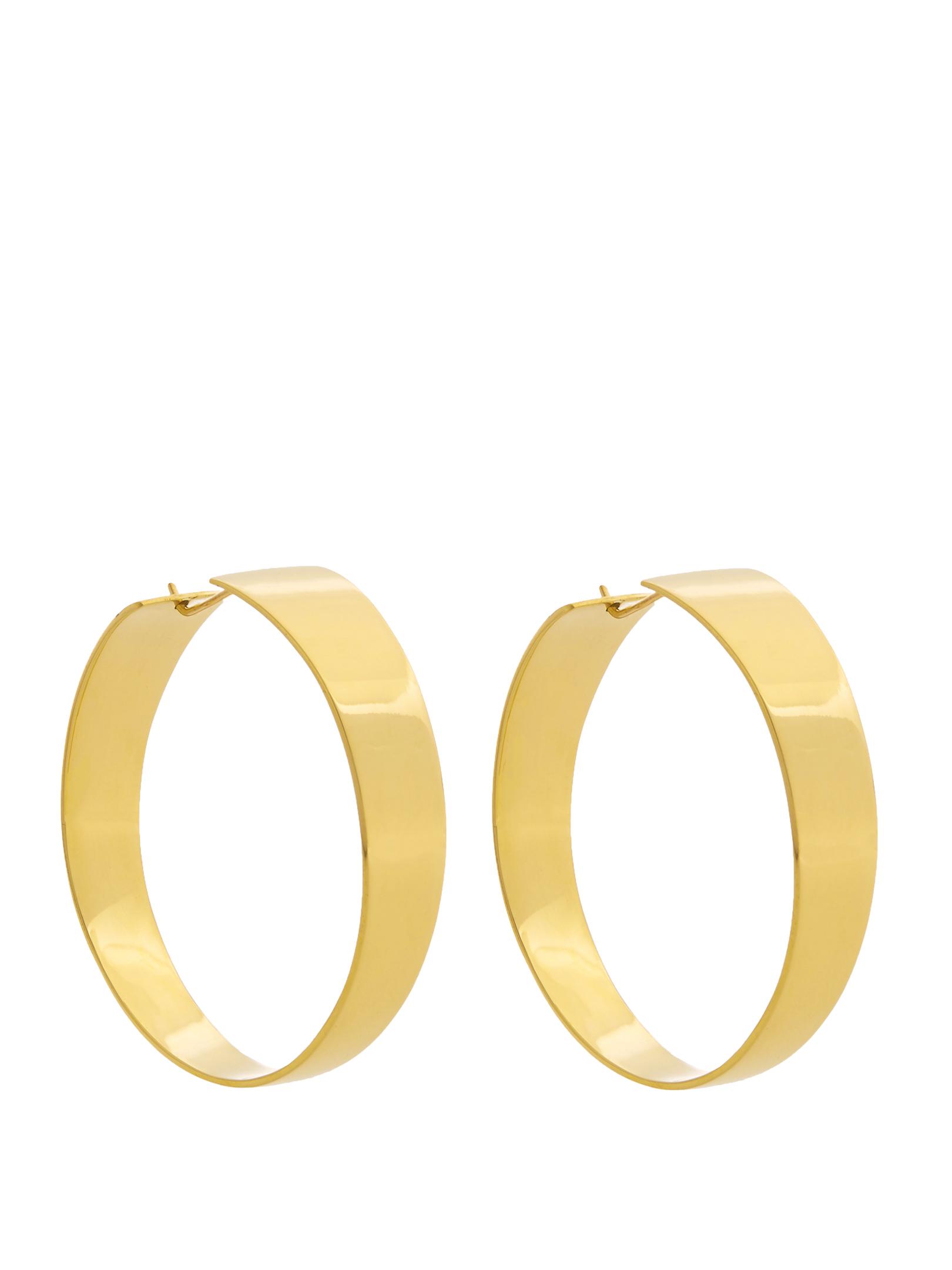 FAY ANDRADA - gold hoop earrings