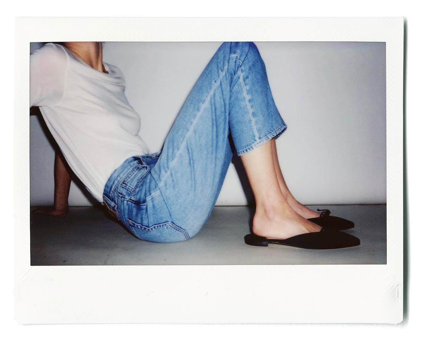 toteme jeans white tee.jpg