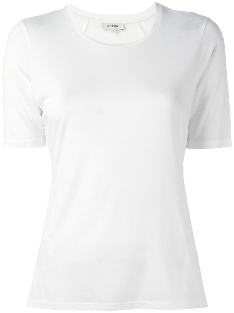 white tee - Totême / for less