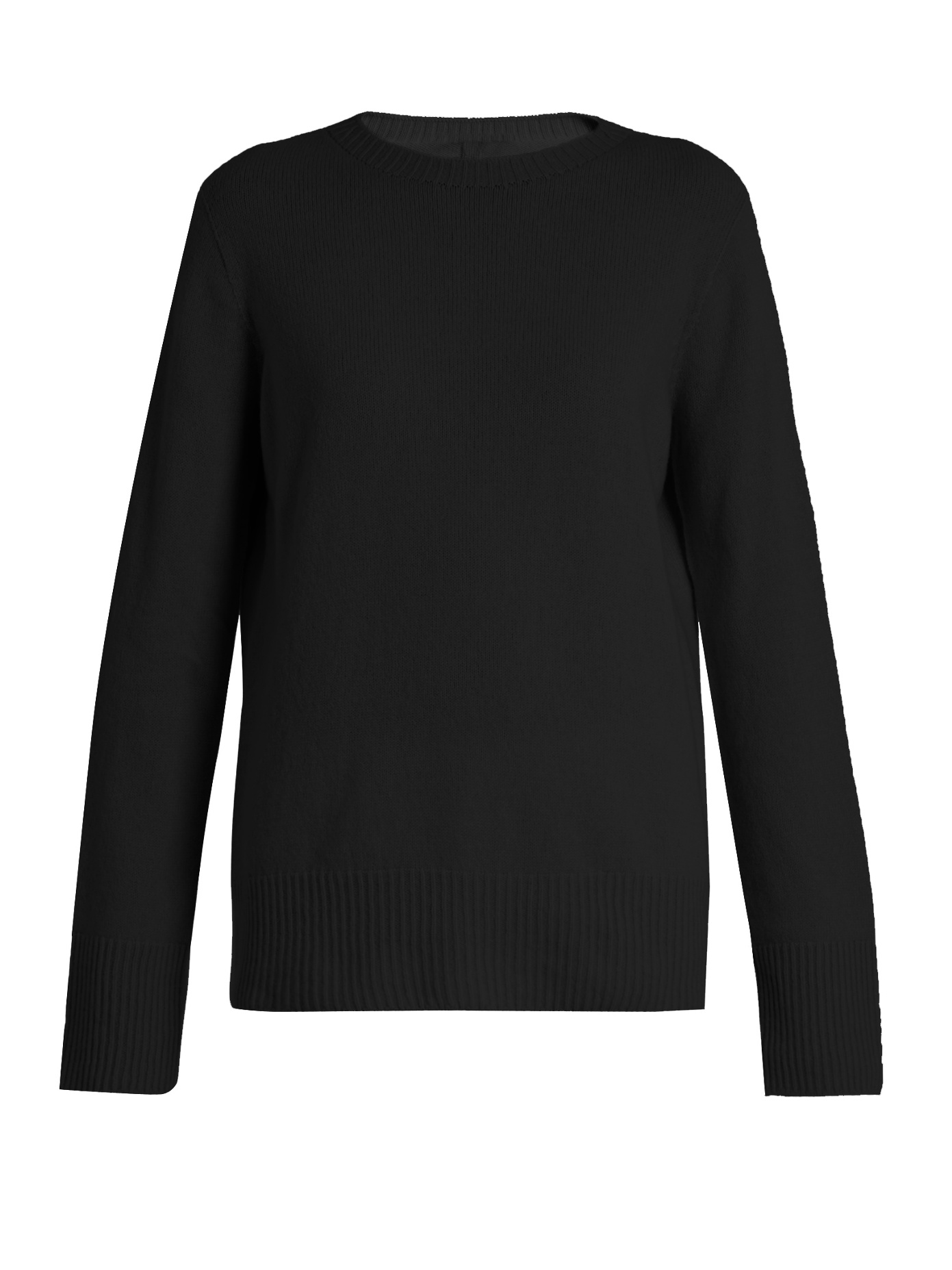 black or navy crewneck knit - The Row / for less