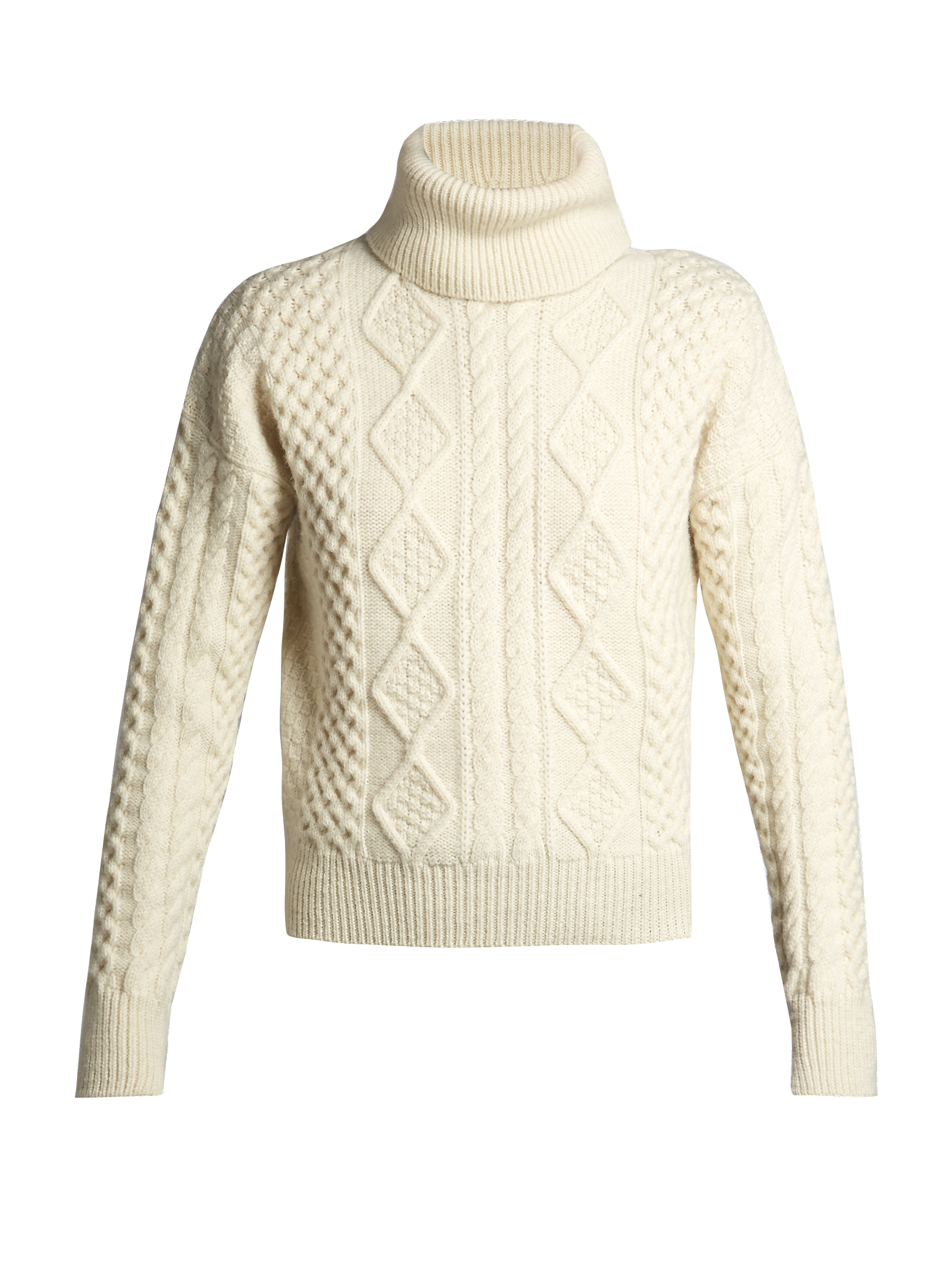 ivory cable knit - Saint Laurent / for less