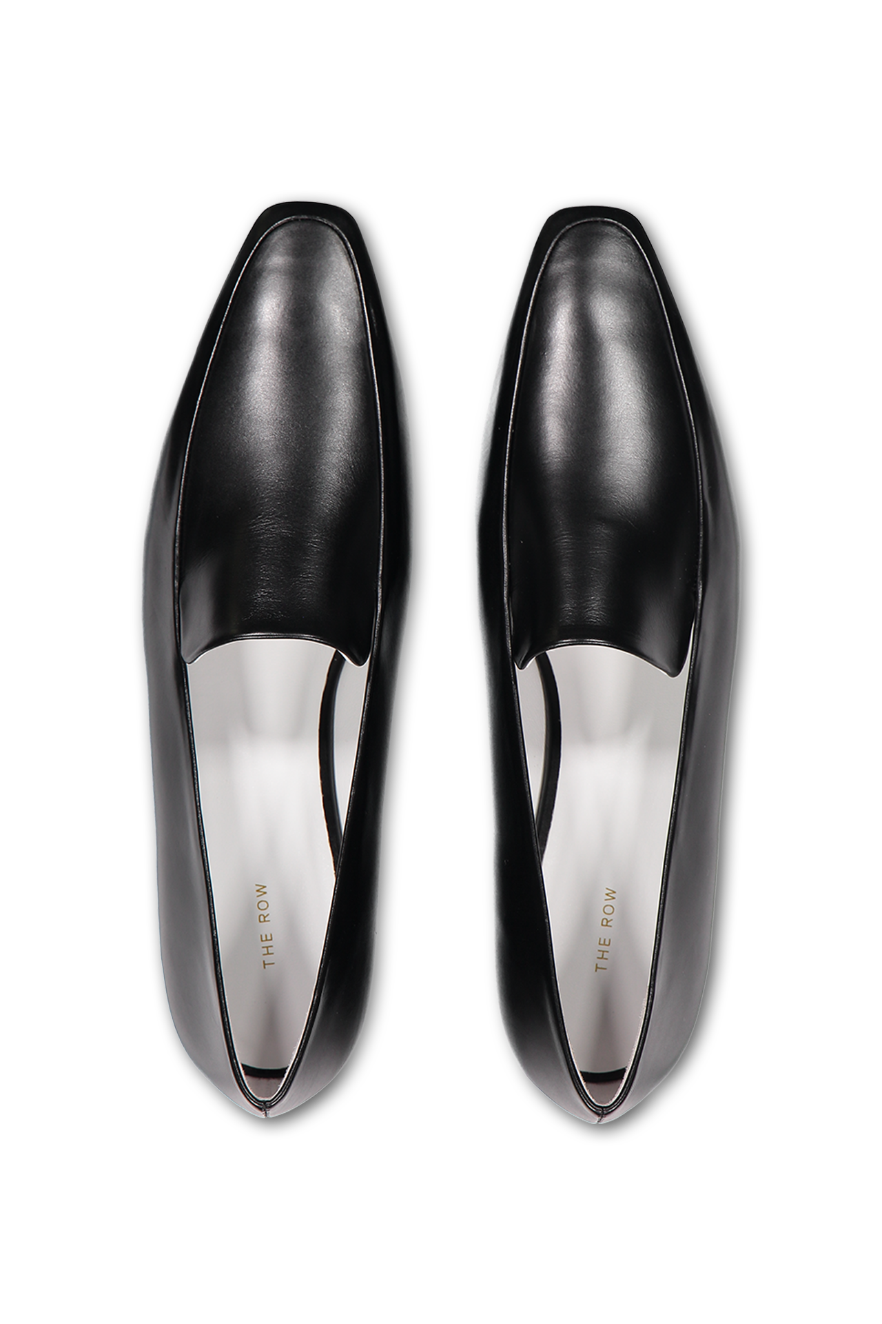 THE ROW - just because it's the holidays doesn't mean gift giving has to be impractical. I love the thought that goes into a practical gift — like these perfect minimal leather loafers.