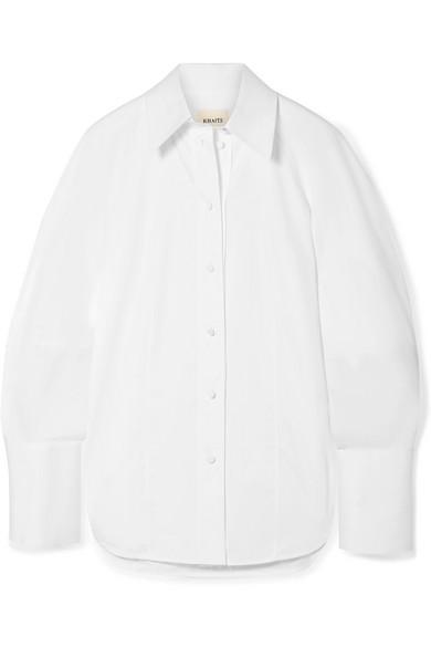 femme white shirt - by Khaite