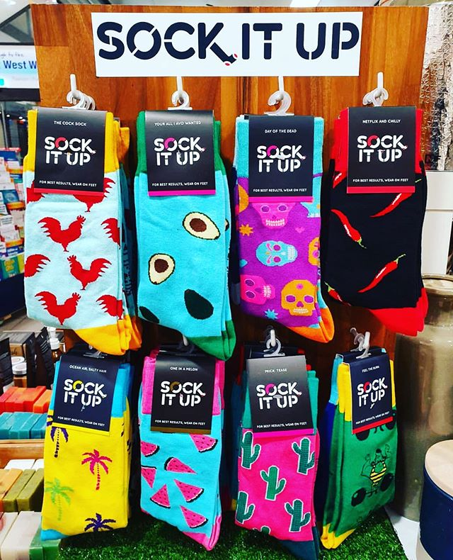 We are busy designing new designs AGAIN. What would you like to wear on your socks? 📸 @seachangenews  #sockitupau #sockcess #socks #sockstand #australianretailer #socksfetish #sockoftheday