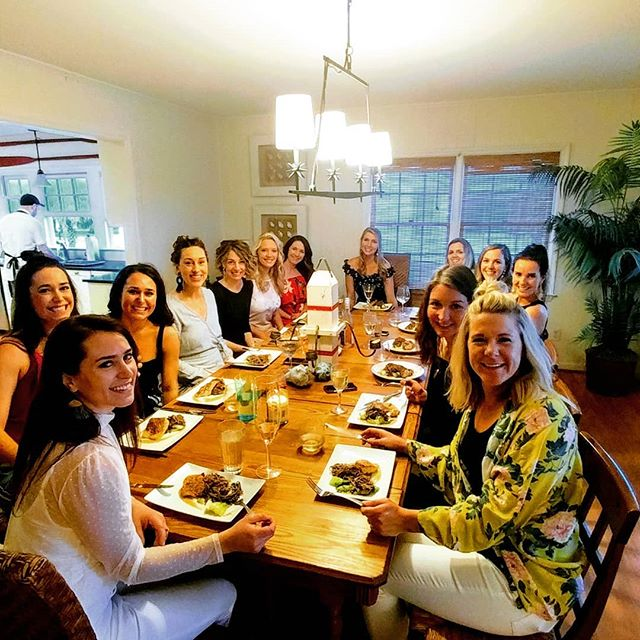 For these ladies, the Food Fire + Knives experience was part of a visit to Isle of Palms to celebrate a bachelorette weekend!