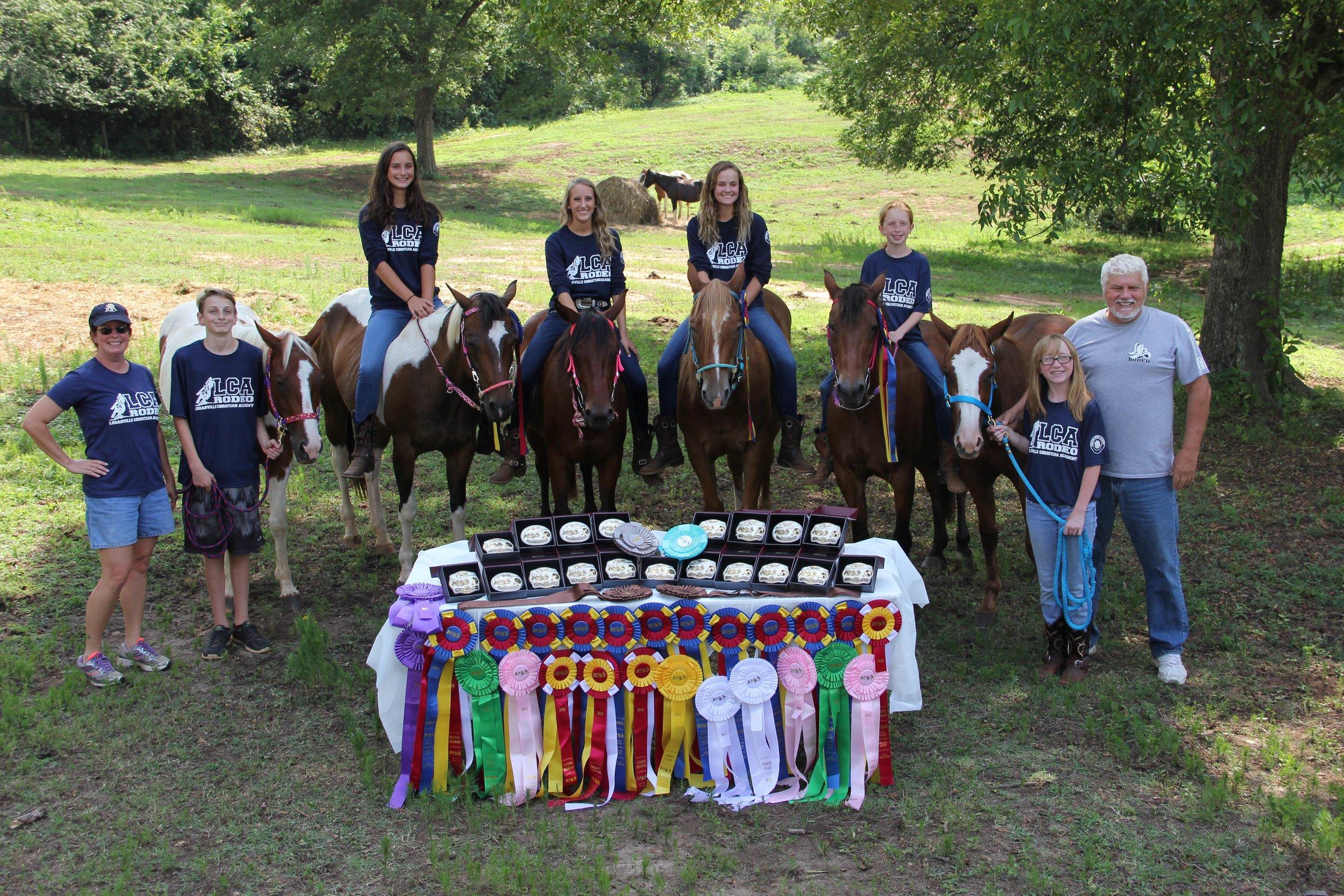 2015 Rodeo World Champions