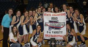 2010 Girls Basketball State Champions