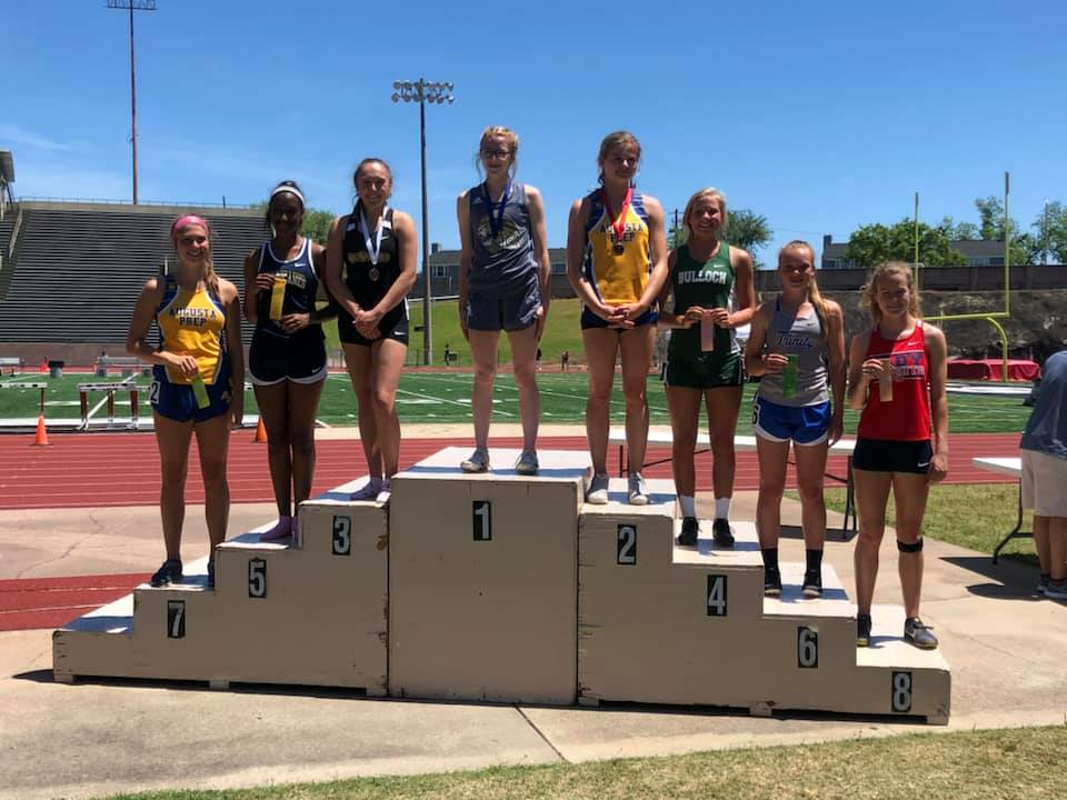 2019 Track State Champion 300 Hurdles