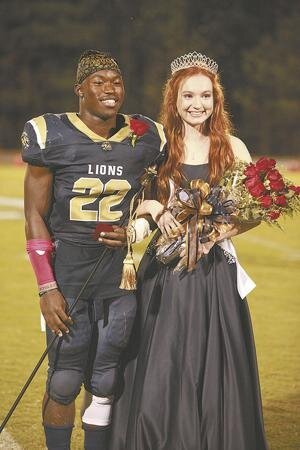 LCA Homecoming   JR Curley, left, was voted Homecoming King by his peers at LCA. Julia Fleming, right, was chosen to be Homecoming Queen.