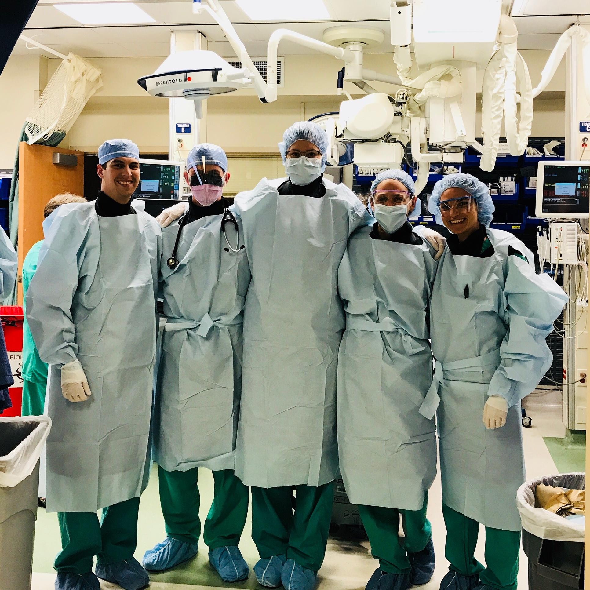 Trauma Surgery, AMC, 2017