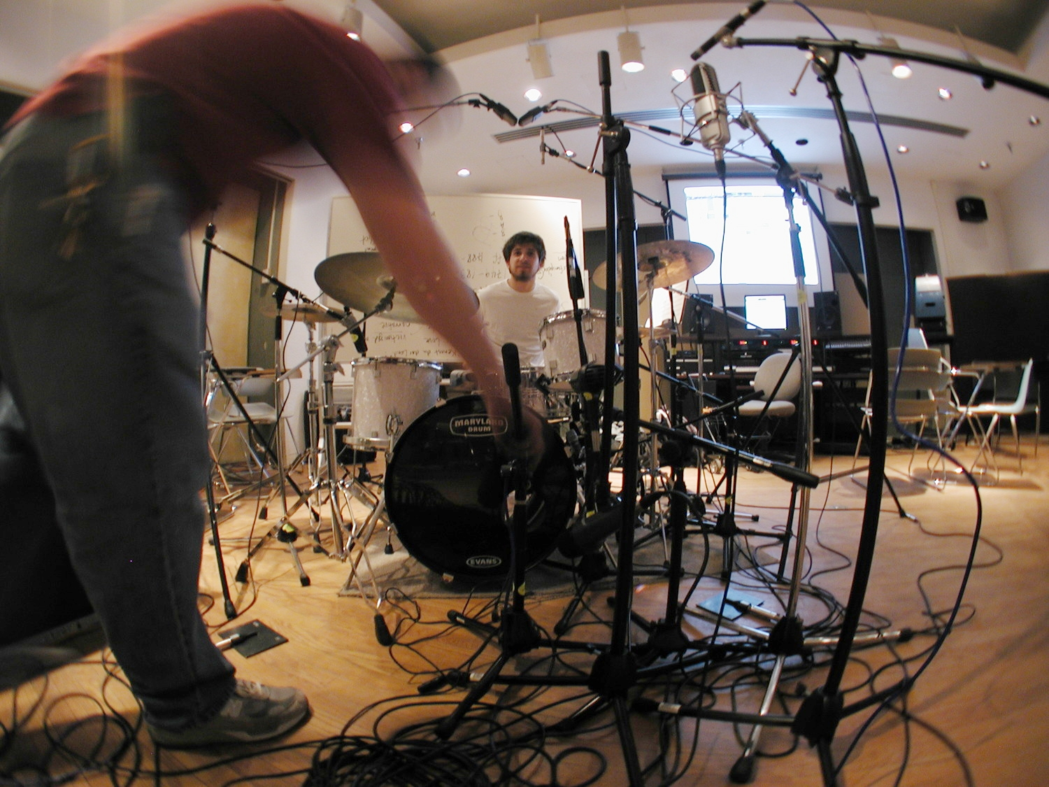Drum recording in class