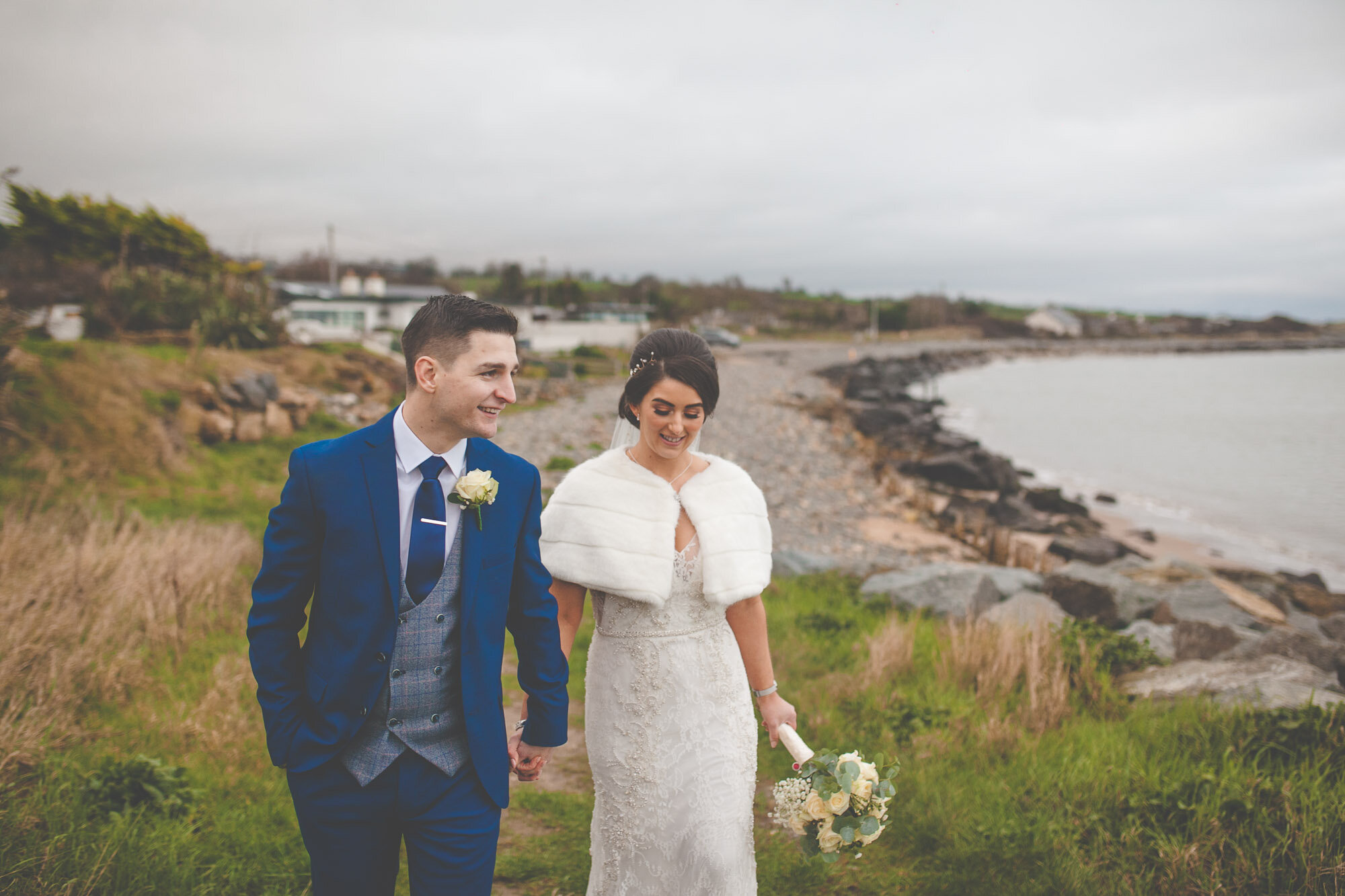 """Chloe & Mark - """"Where to start! So for someone we found scrolling through Google, we instantly seen that Jimmy was what we were looking for in a photographer. He has such a relaxing, laidback approach that made us feel at ease the whole day.Our bridal party & guests all felt at ease & enjoyed what can only be described as"""
