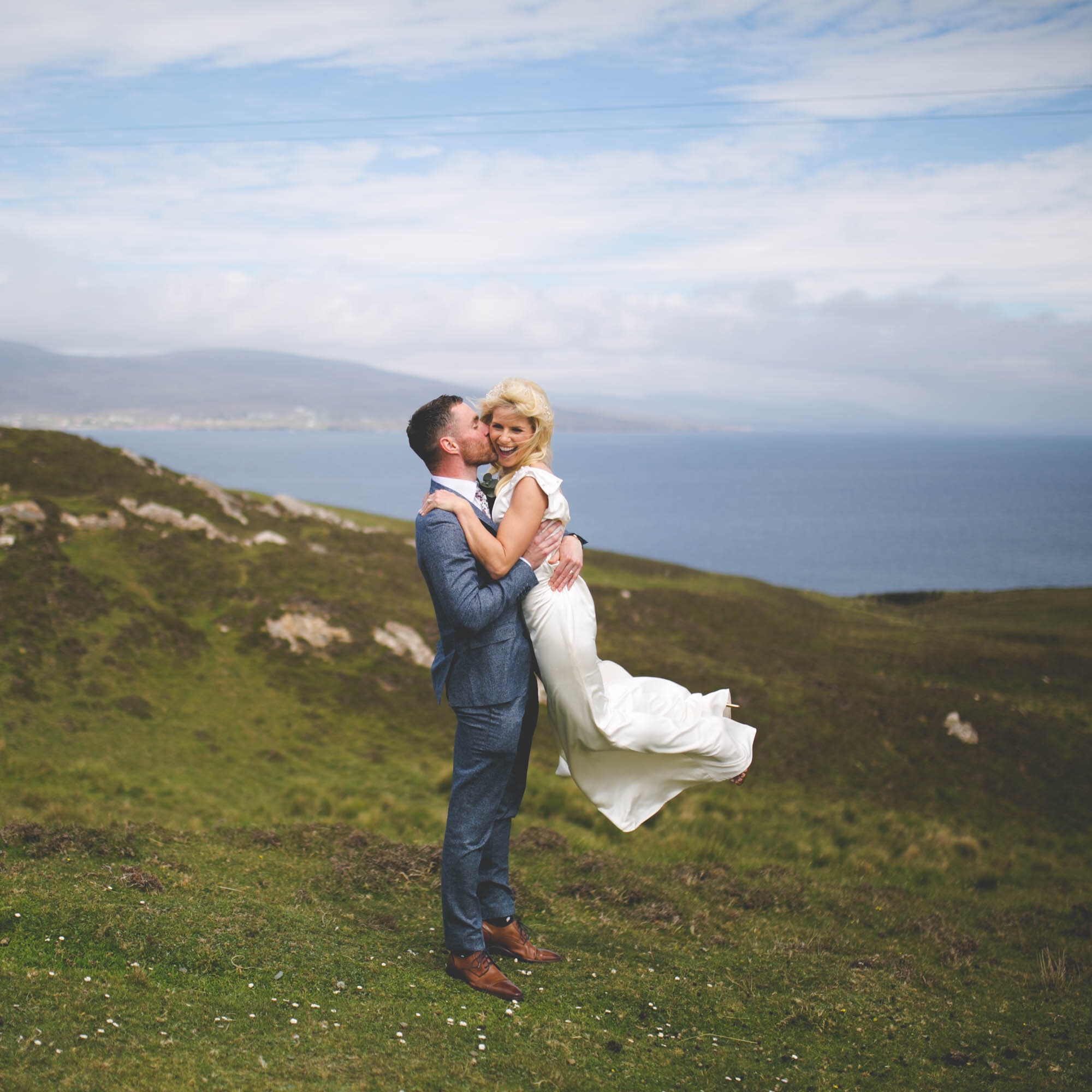 Clare Island Wedding. Co. Mayo. Landscape