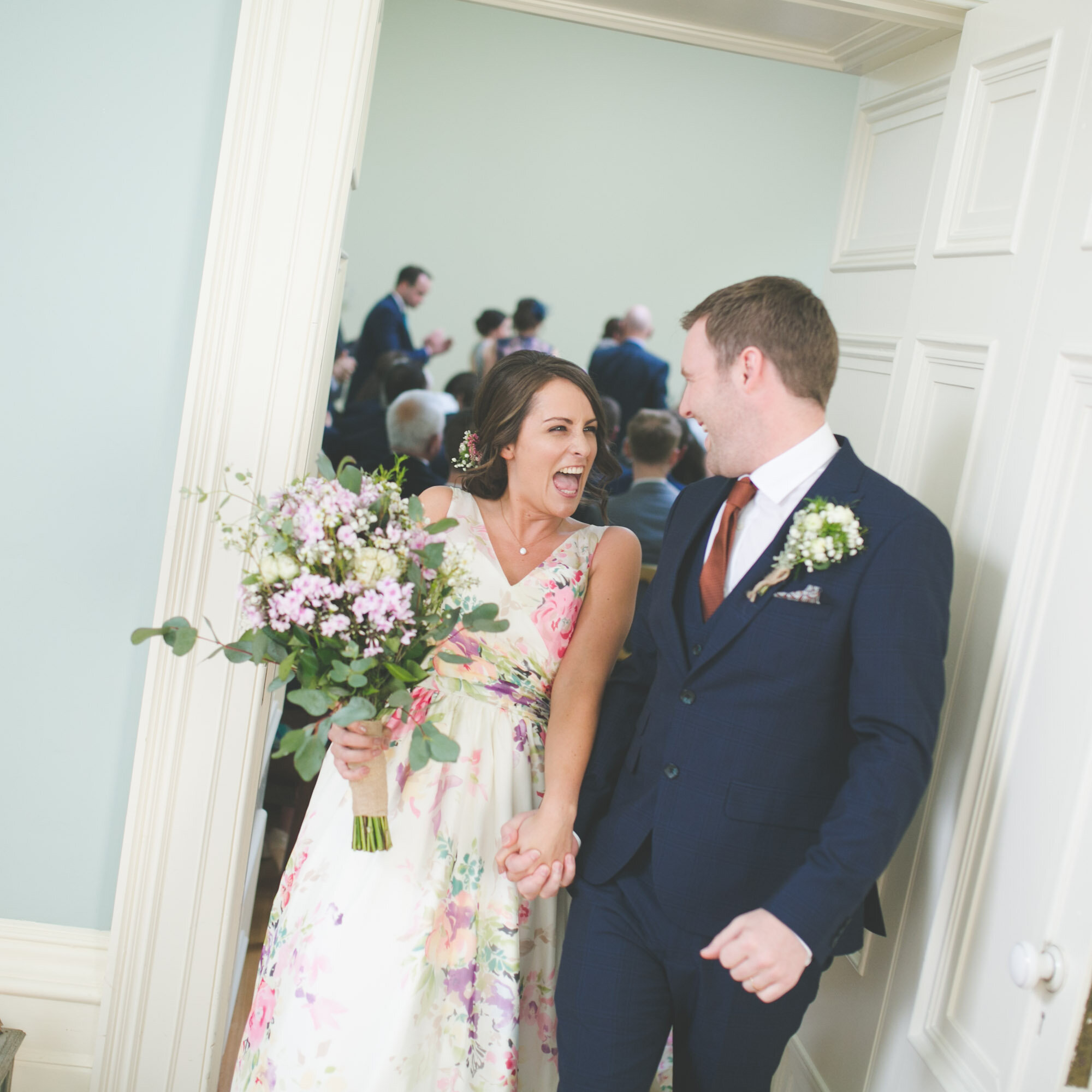 Temple House Wedding. Co. Sligo. Floral Bouquet.