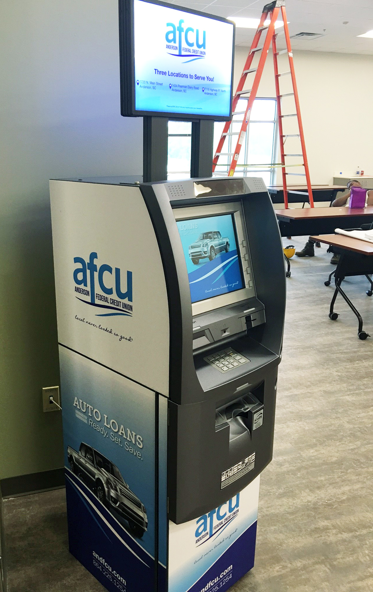 Fully Wrapped ATM for AFCU