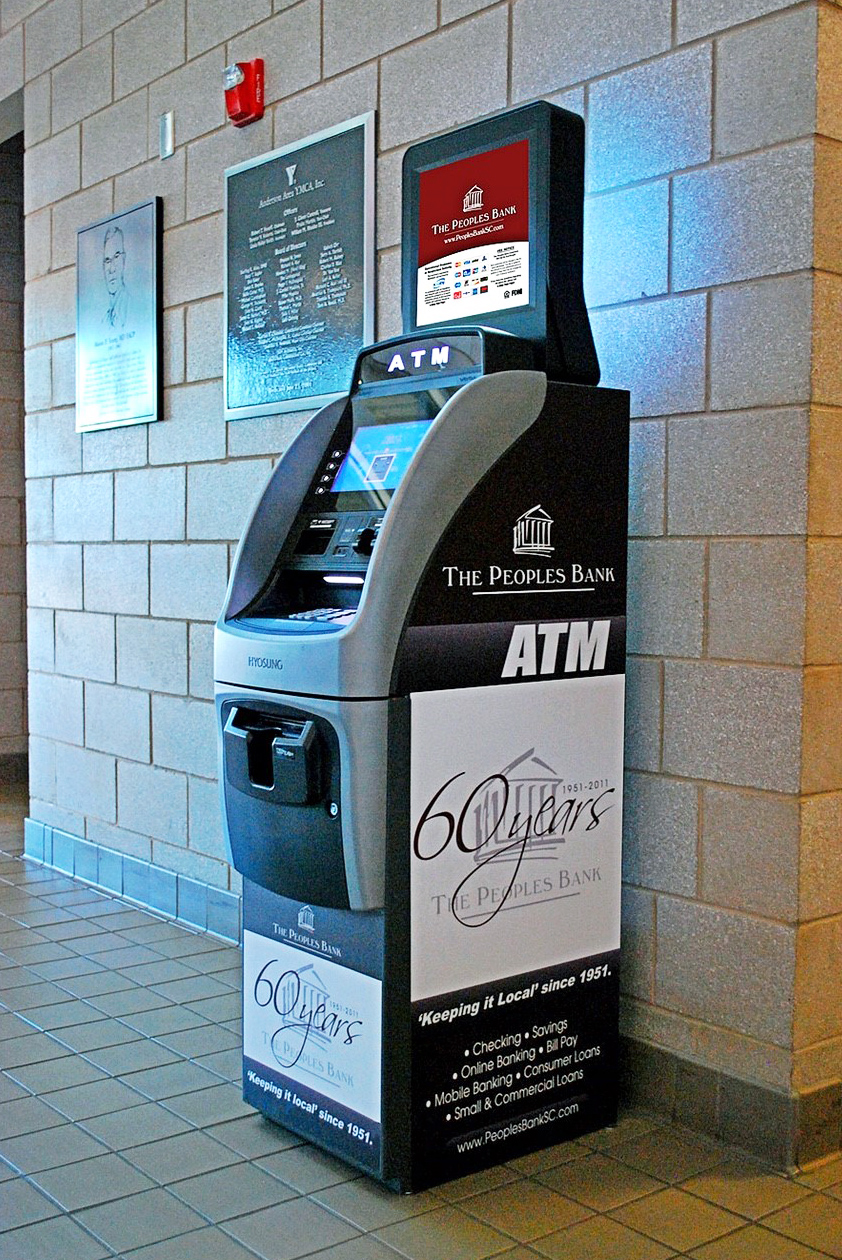 People's Bank ATM in Lobby