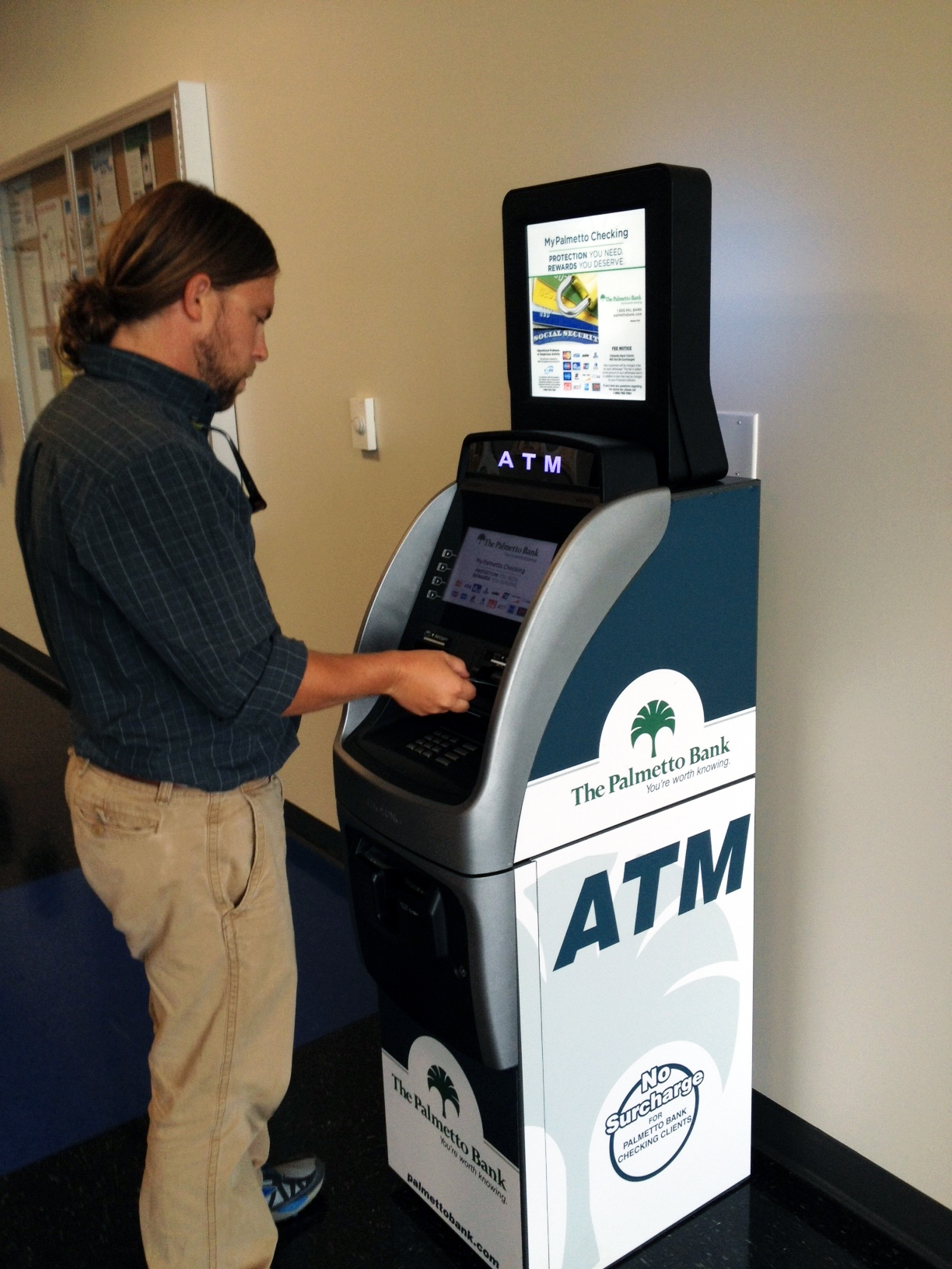 Palmetto Bank ATM at ZF Transmission