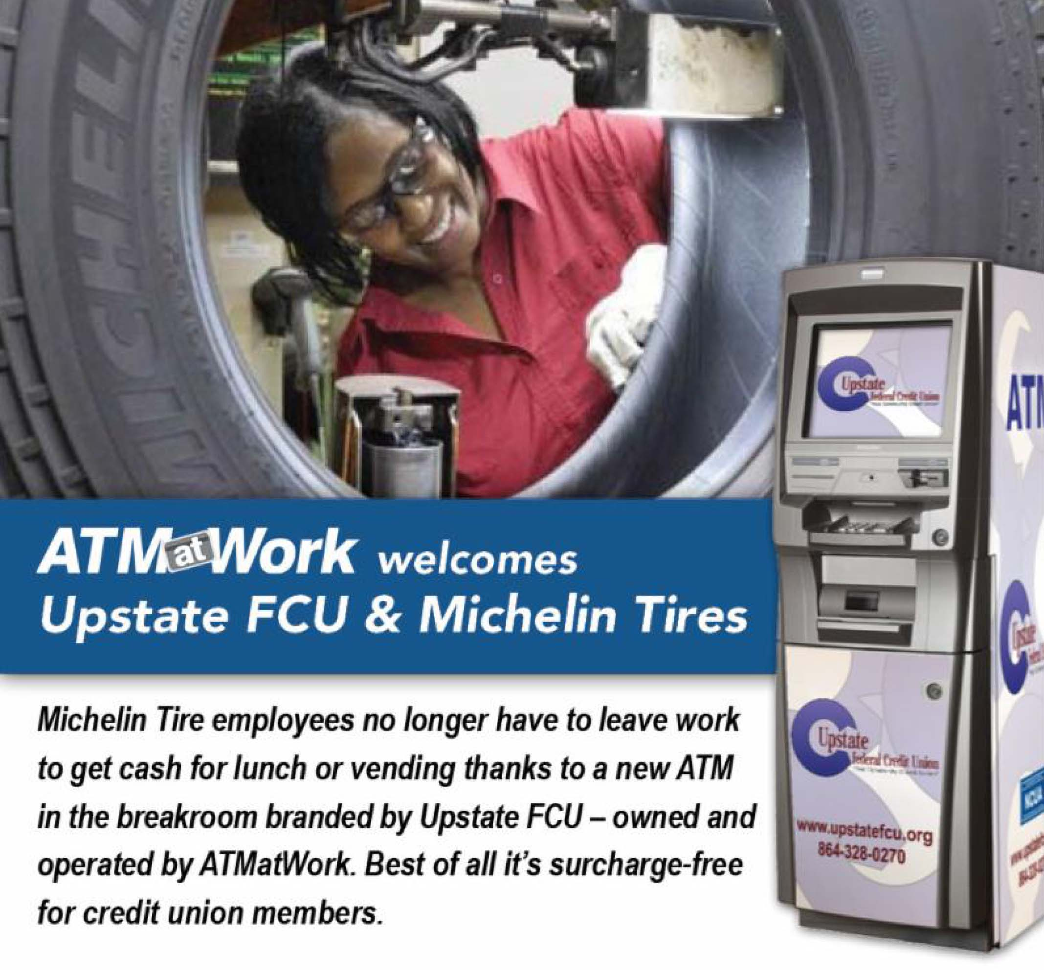 ATM at Work-Michelin Tires-Upstate FCU.jpg