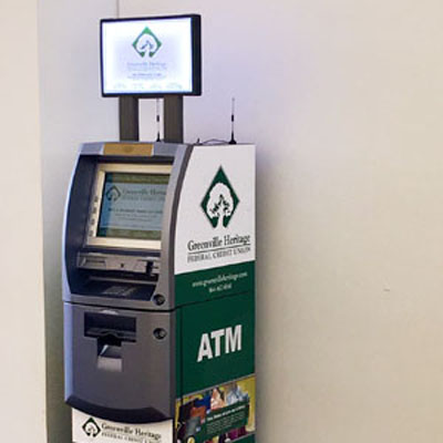 Greenville ATMs are Dynamic Marketing Tools