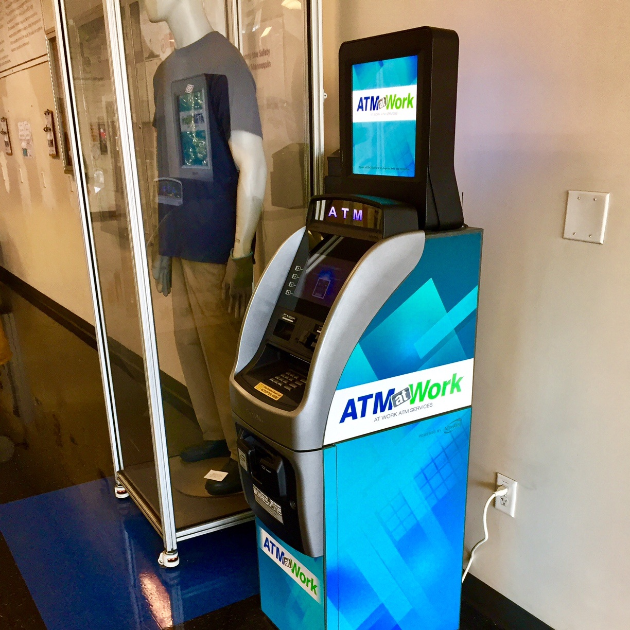 Small Footprint ATM at Work Lobby ATM