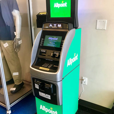 ZF Transmision Staff Love their Allpoint ATM
