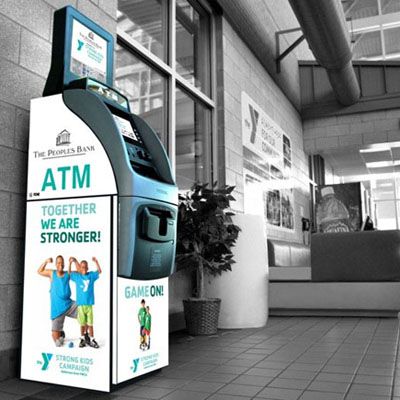 Customized & Segmented ATM Wrap