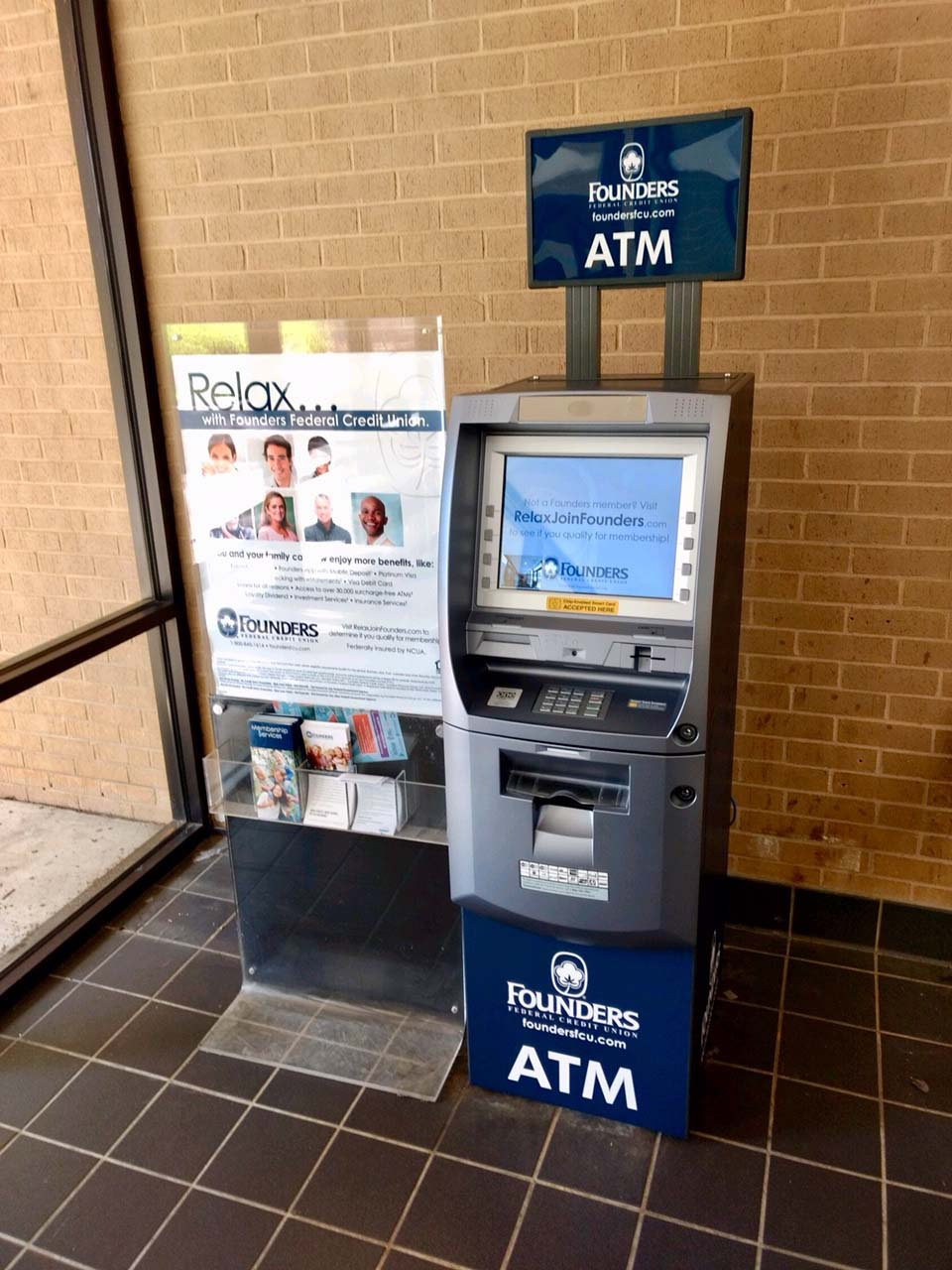 ATMatWork-Founders FCU York Tech College