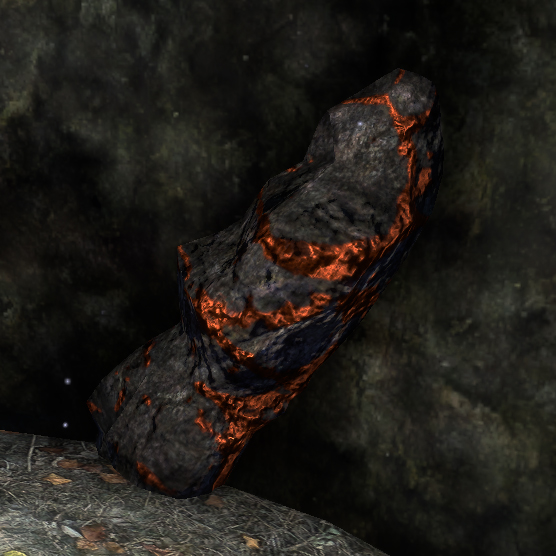 Copper Ore - Raw material used to create Copper Ingots. Can be found while adventuring or in Mines.
