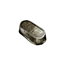 Ingots - Metal ingots used in the crafting of metal components, weapons, and armor